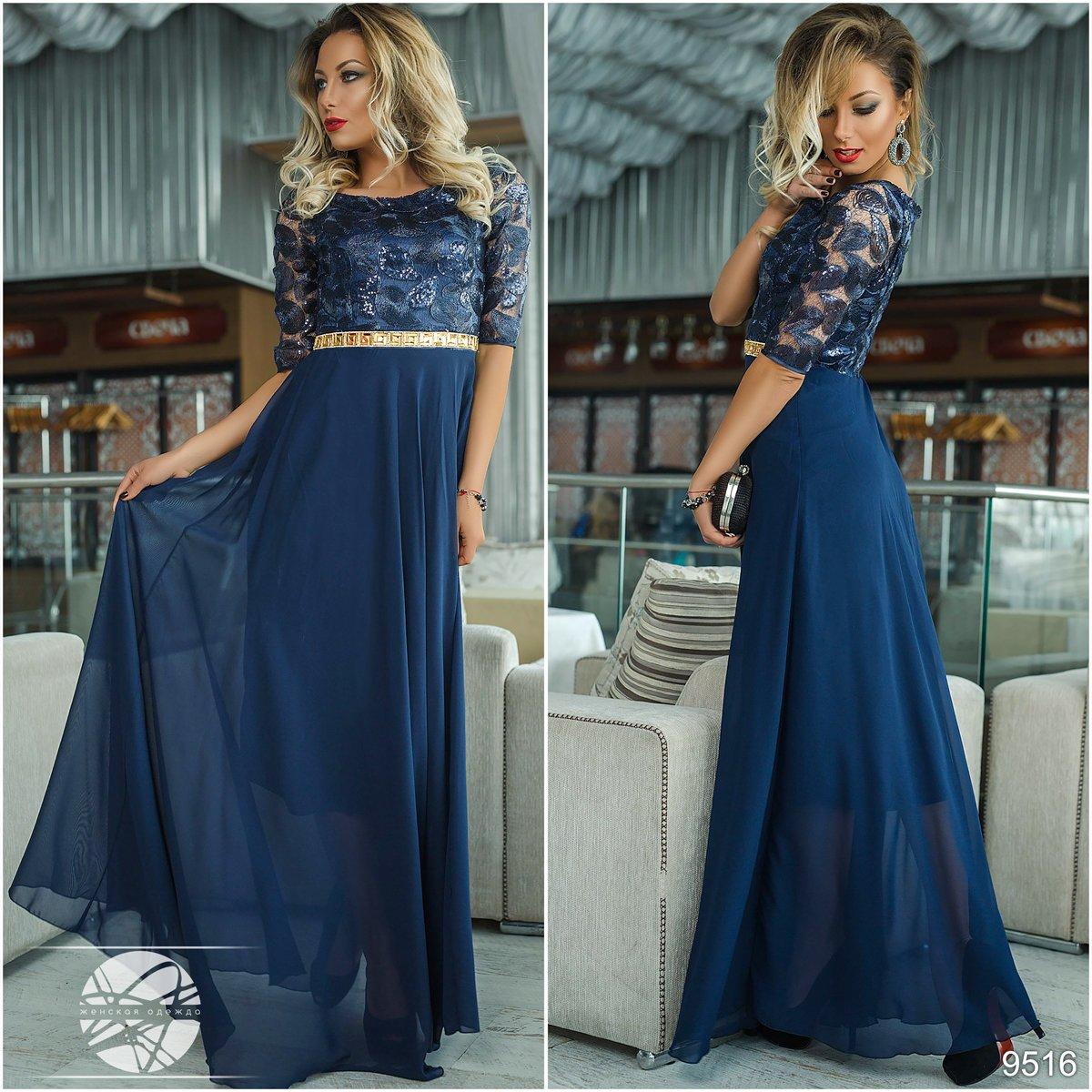 купить вечернее платье 42 размера